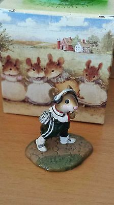 """Wee Forest Folk, MS-25 """"Walkmouse"""" green Mint"""