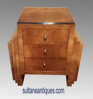 In 4 weeks Superb Art Deco style French Elm commode