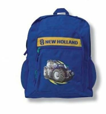 New Holland Backpack school backpack youth  new !!  TRACTOR BACKPACK