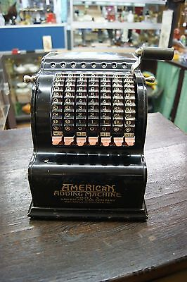 Antique American adding machine model 5 Pat-1912 American Can Company