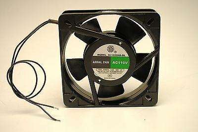 Axial PC Muffin Cooling Fan 110MMX110MMX28MM  110Volt AC 50/60Hz 0.2A 18W 2P