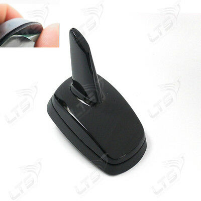 Black Car GPS decorative Dummy Fin Roof Shark Antenna Aerial Spoiler for vw golf