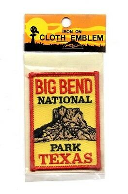 Big Bend National Park Texas Souvenir Travel Patch - Brand New - Free Shipping!