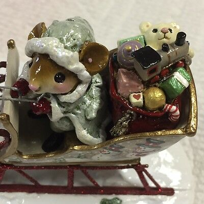 Wee Forest Folk Christmas Tweets M-404a (#276 of only 300 made)