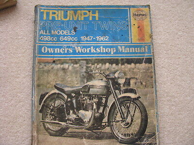 Triumph Pre-Unit Twin Workshop Manual