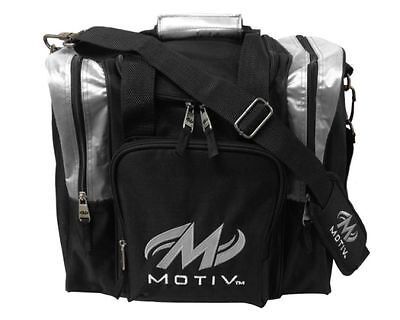 Motiv Bowling Ascent Single Tote Tasche silber
