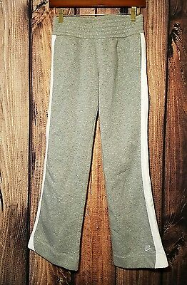 Nike Youth Gray Athletic Track Pants Sweat Pants Bottoms Size 14 (Large) Casual