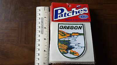 Oregon White Lake Travel Souvenir Patch - Brand New - Free Shipping!