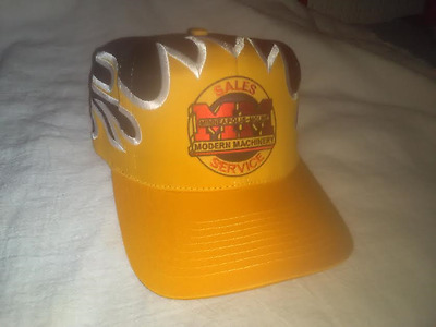 Minneapolis Moline Sales & Service Hat In Flames