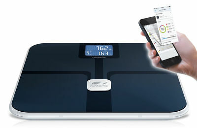 Runtastic App Bluetooth Digital Scale/Body Fat Weight Analysis for iPhone iPad/B