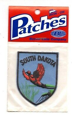 South Dakota Pheasant Bird Travel Souvenir Patch - Brand New - Free Shipping!