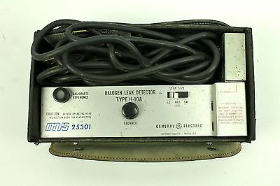 GE Mars 25301 Halogen Leak Detector Type H-10A *Untested/as-is""