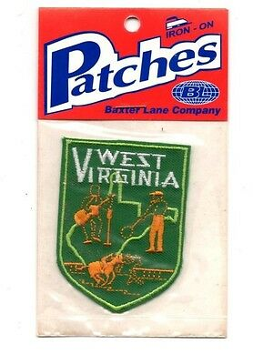 West Virginia Travel Souvenir Patch - Brand New - Free Shipping!