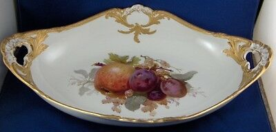 Large KPM Berlin Art Nouveau Porcelain Fruit Serving Dish Bowl Porzellan Schale