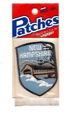 New Hampshire Snow Voyager Travel Souvenir Patch - Brand New - Free Shipping