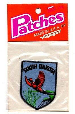 South Dakota Pheasant Voyager Travel Souvenir Patch - Brand New - Free Shipping
