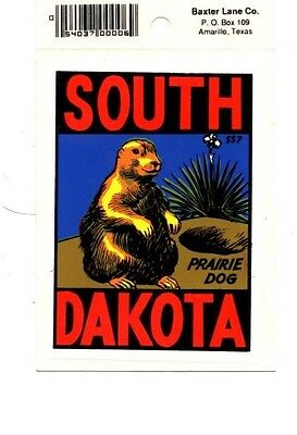 Lot of 12 South Dakota Souvenir Luggage Decals Stickers - New - Free S&H