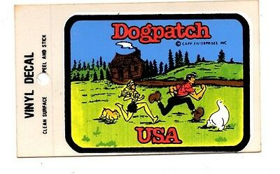 Lot of 12 Dogpatch USA #1 Luggage Decals Stickers - New - Free S&H