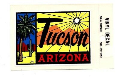Lot of 12 Tucson Arizona Luggage Decals Stickers - New - Free S&H