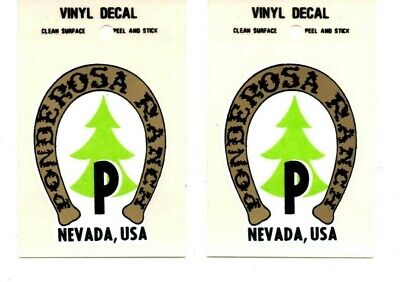 Ponderosa Ranch Nevada, USA Decal Sticker - Brand New - Free Shipping!