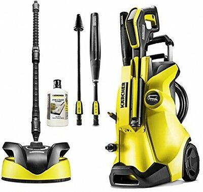 Karcher K4 Full Control Home Pressure Washer with T350 Patio Cleaner