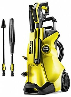 Karcher K4 Full Control Pressure Washer Spray Lande Dirt Blaster and Batteries