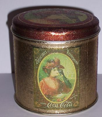 Coca Cola Coke Tin With Jigsaw Puzzle