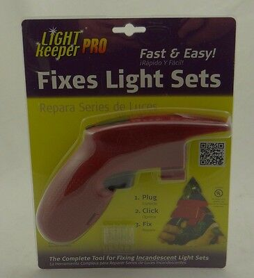 LIGHT KEEPER PRO ~FIXES CHRISTMAS TREE INCANDESCENT LIGHT SETS~Repair Tester~NEW