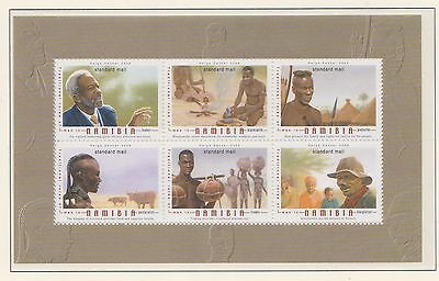 (SWB-98) 2006 Namibia M/S traditional role of men (B) MUH