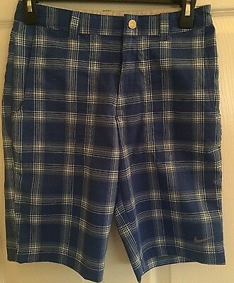 Boys NIKE GOLF DRI FIT Adjustable Waistband Shorts Size Medium