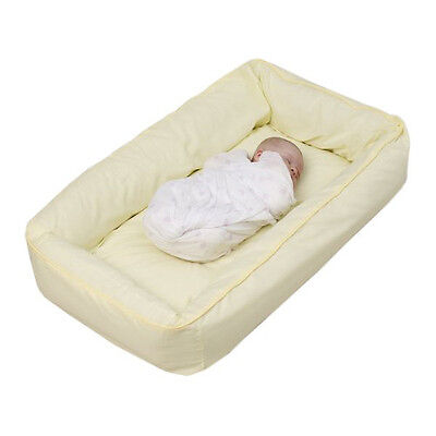 Tetra Original Snuggle Bed with Cover - No need for a Bassinet or Cradle - Lemon
