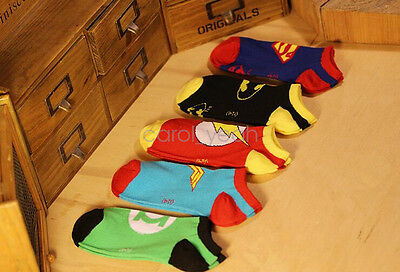 1 Pairs Mens Cotton Socks Warm The Avengers Super Hero Casual Dress Socks