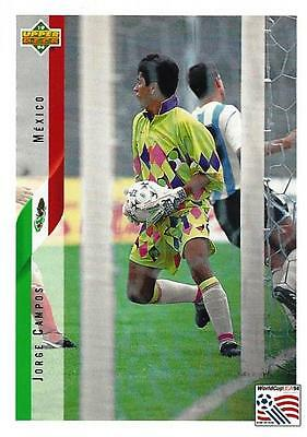 50eff45d440 1994 Upper Deck World Cup USA '94 English/Spanish Contenders Promotional  Cards