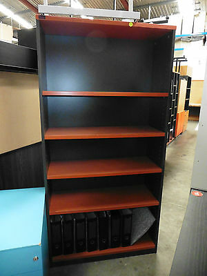 Office Bookcase 1800Mm Cherry Or Beech Brisbane