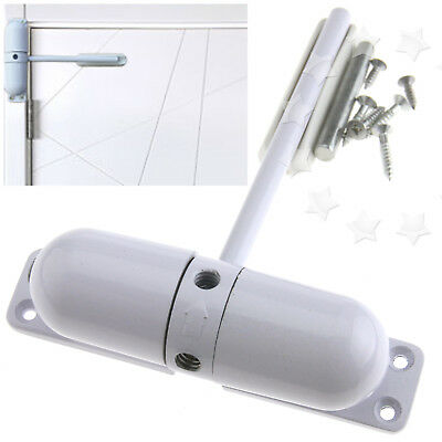 Auto Closing Surface Mounted Fire Rated Adjustable Door Closer Spring Loaded