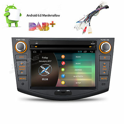 Android 6.0 Quad Core Car Multimedia DVD Player For Toyota RAV4 2006-12 GPS Navi
