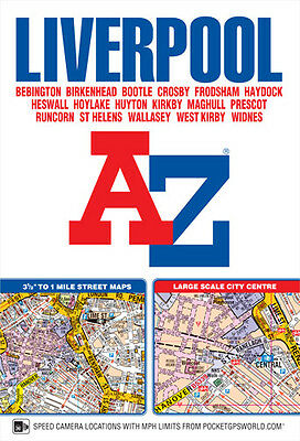 Liverpool Street Atlas by Geographers' A-Z Map Company (Paperback, 2017)