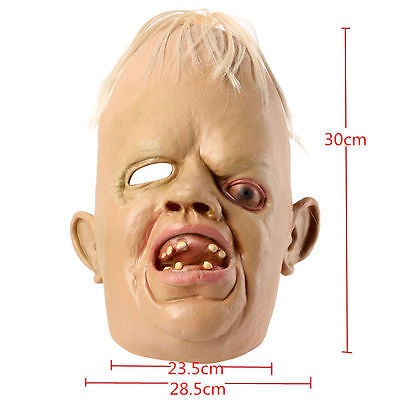 SLOTH LATEX MASK 1980's 80's DELUXE GOONIES HALLOWEEN FANCY DRESS COSTUME skin