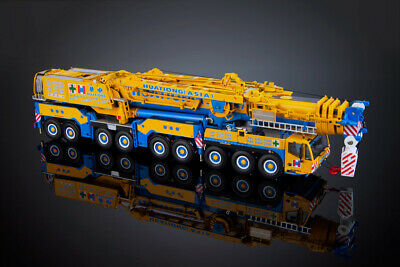 TWH TOWSLEY'S 090-01144 Grove GMK4115L CRANE TRUCK YELLOW - Scale 1:50