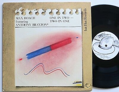 Max Roach / Anthony Braxton One In Two-Two In One Hat Hut Free Jazz 2 Lp Mint-