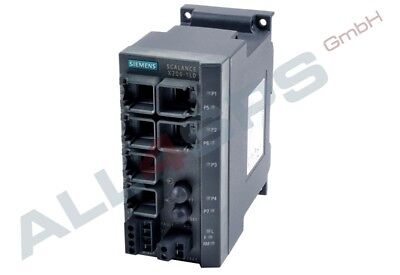 Scalance X206-1Ld, Managed Ie Switch, 6Gk5206-1Bc10-2Aa3 Gebraucht