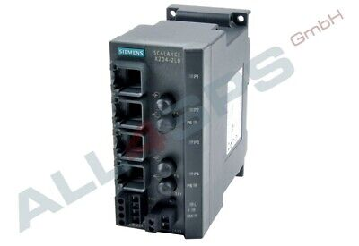 Scalance X204-2Ld, Managed Ie Switch, 6Gk5204-2Bc10-2Aa3 Gebraucht