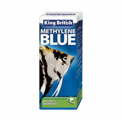 King British Methylene Blue Aquarium 100Ml Fungal Bacteria Treatment Fish Tank