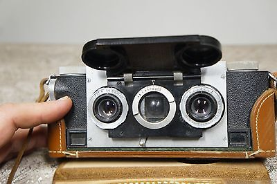 Realist Stereo 3D Camera David White 35mm f/3.5 *** Works ***