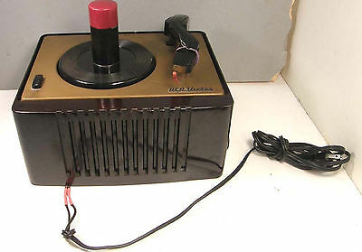Vintage Rca Victor 45-Ey-2 45Rpm Bakelite Tube Portable Record Player