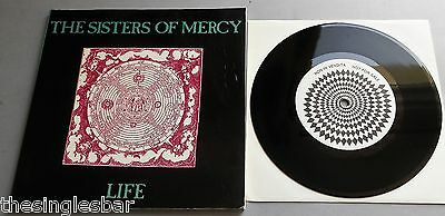 "The Sisters Of Mercy - Life Italian Booklet & 7"" Emma / Ghost Rider"