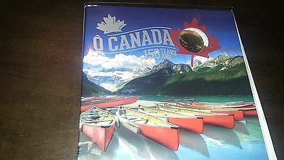 2017 O Canada Gift Set 150 Years w/ Special Maple Leaf 1$ Coin, 5 coin set