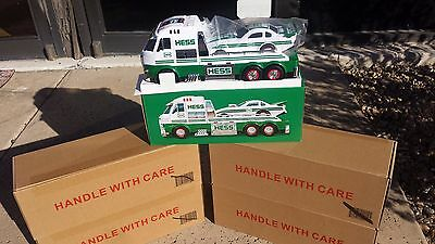 1- BRAND NEW Hess Toy Truck And Dragster
