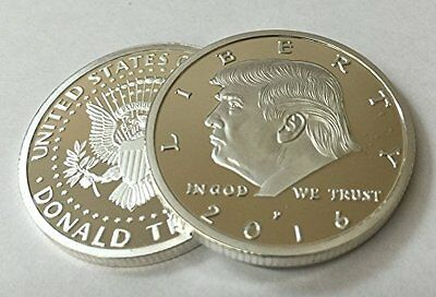 President Donald Trump 2016 Silver EAGLE Novelty Coin 30mm New