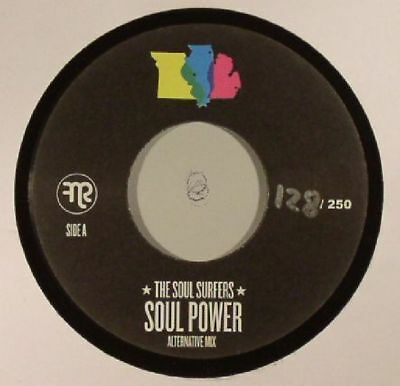 """SOUL SURFERS - Soul Power - Vinyl (hand-numbered 7"""" limited to 250 copies)"""